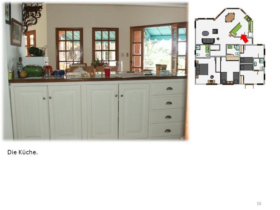 16 Die Küche.