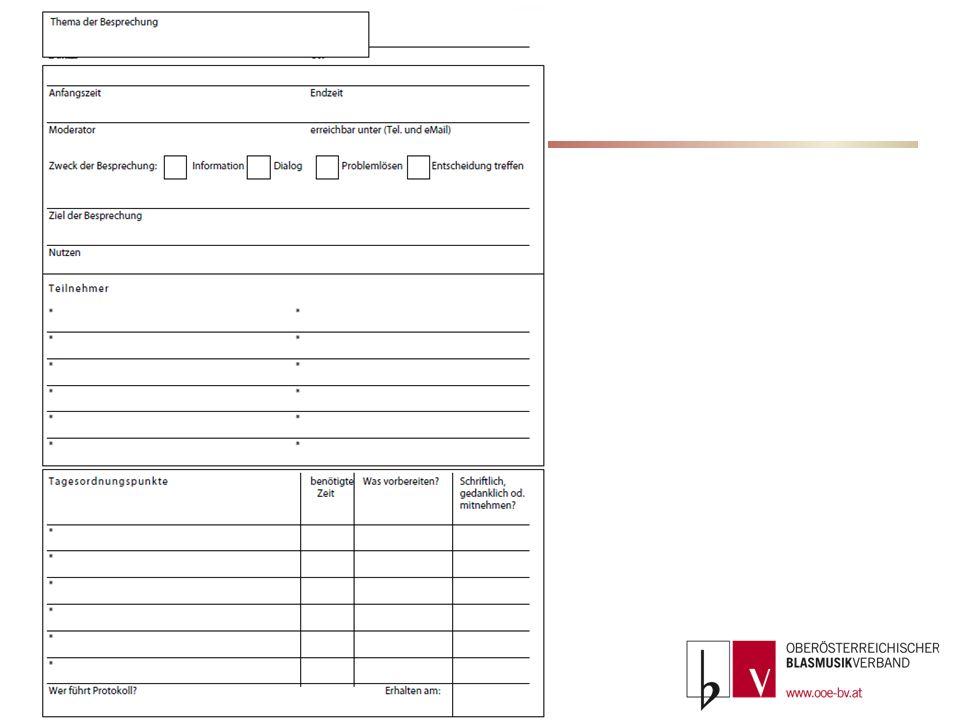 Die Gestaltung einer Moderation Das Ziel Information Diskussion Entscheidung Problemlösung Ablauf im Detail (der Moderationsplan) Regeln und Rollen ZeitZiel / WasMethodikHilfsmittelWer