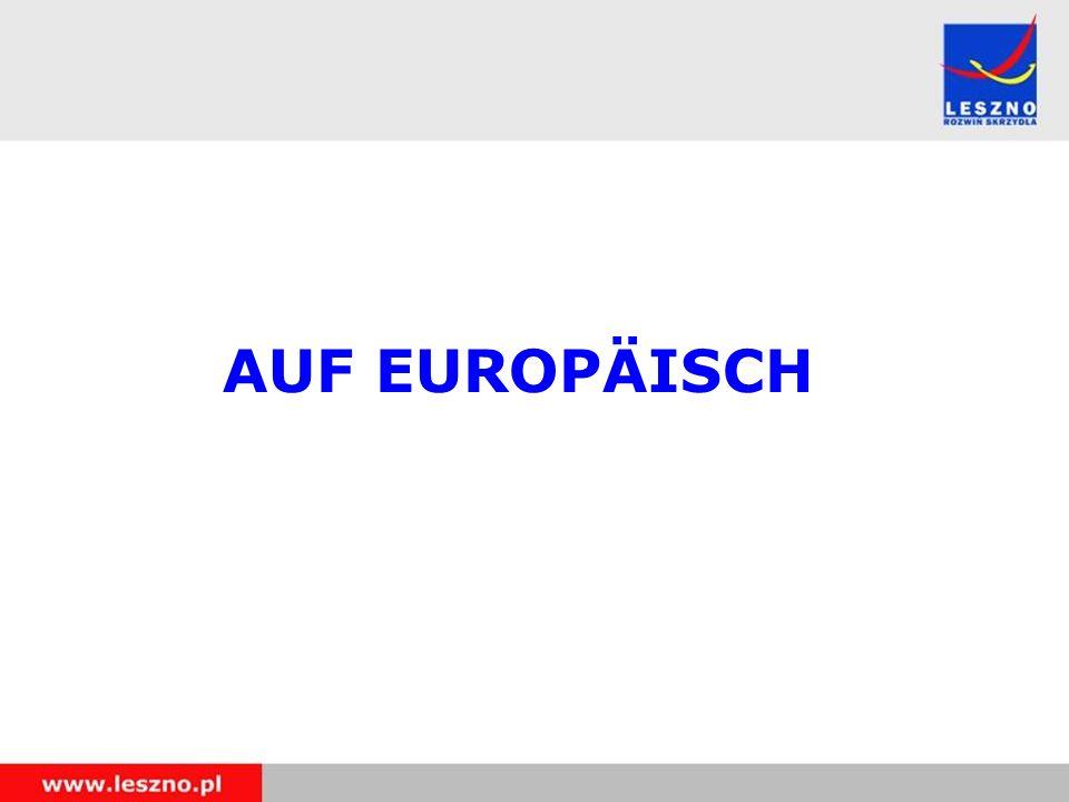 AUF EUROPÄISCH