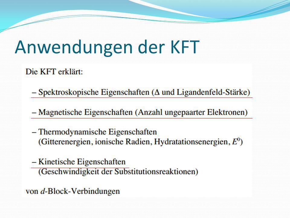 Anwendungen der KFT
