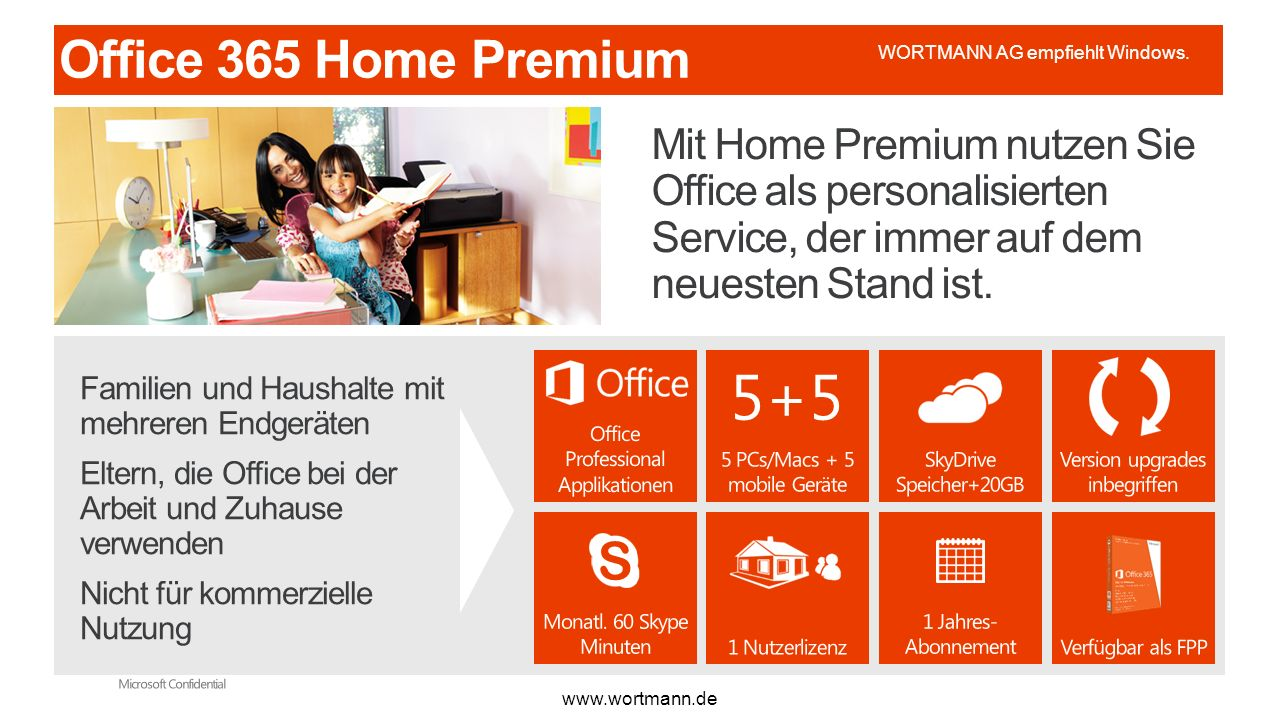 5+5 S www.wortmann.de WORTMANN AG empfiehlt Windows.