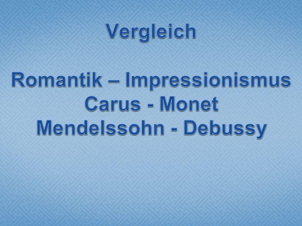 Carl Gustav Carus: Gondelfahrt auf der Elbe bei Dresden, 1827 Klare Eingrenzung des Blicks durch das Fenster.