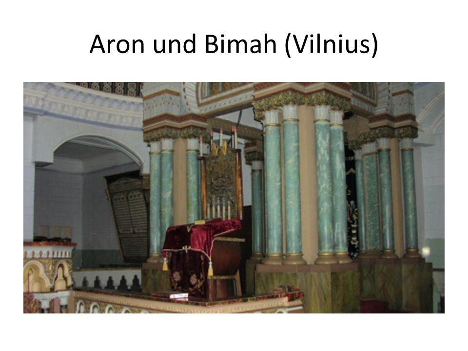 Aron und Bimah (Vilnius)