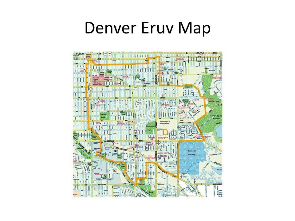 Denver Eruv Map