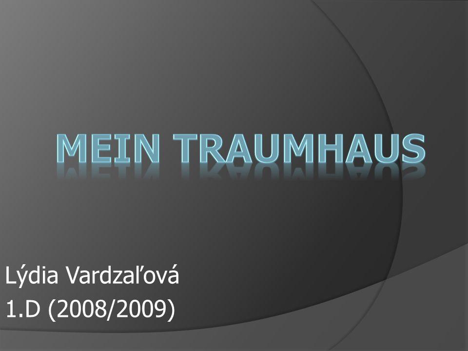 Lýdia Vardzaľová 1.D (2008/2009)