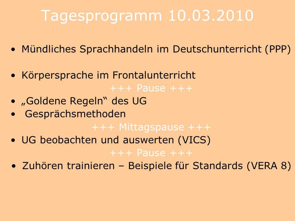 Zuhören und Sprechen im Deutschunterricht Dr. Meike Wulf, Lübeck