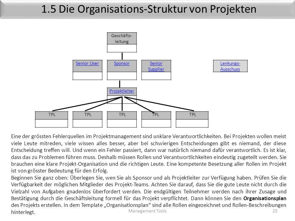 Template Kostenschätzung ( Beispiel) Management Tools24 ProjektDatum KostenartenGesamt 1Personal 2Material (Roh-, Hilfs- Betriebs-Stoffe) 3Bezogene Le