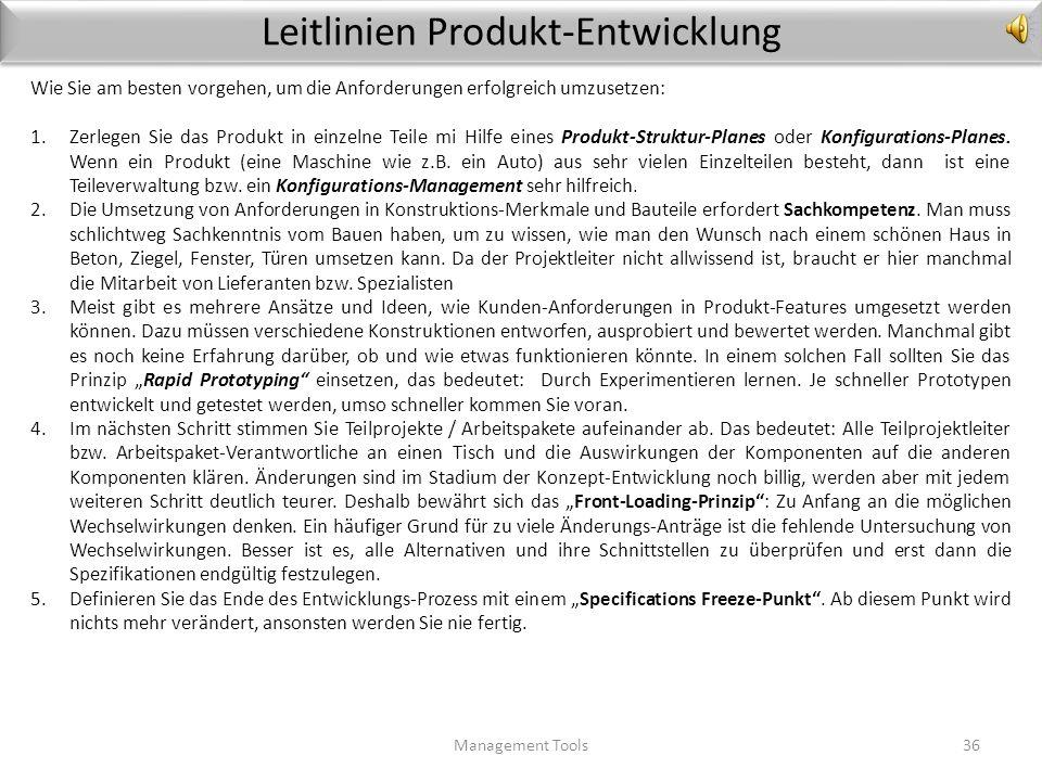 Template Anforderungs-Datenbank Management Tools35 Projekt:Projektleiter:Datum: 1. Anforderung /Requirement / Lastenheft 2. V3. Messwert4. Ur- heber 5