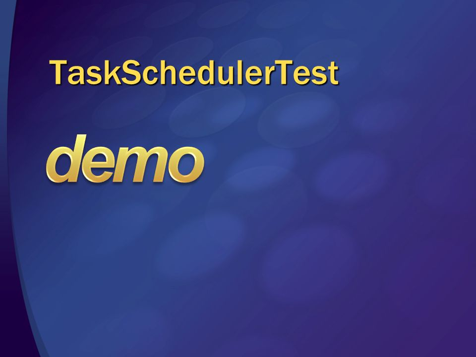TaskSchedulerTest