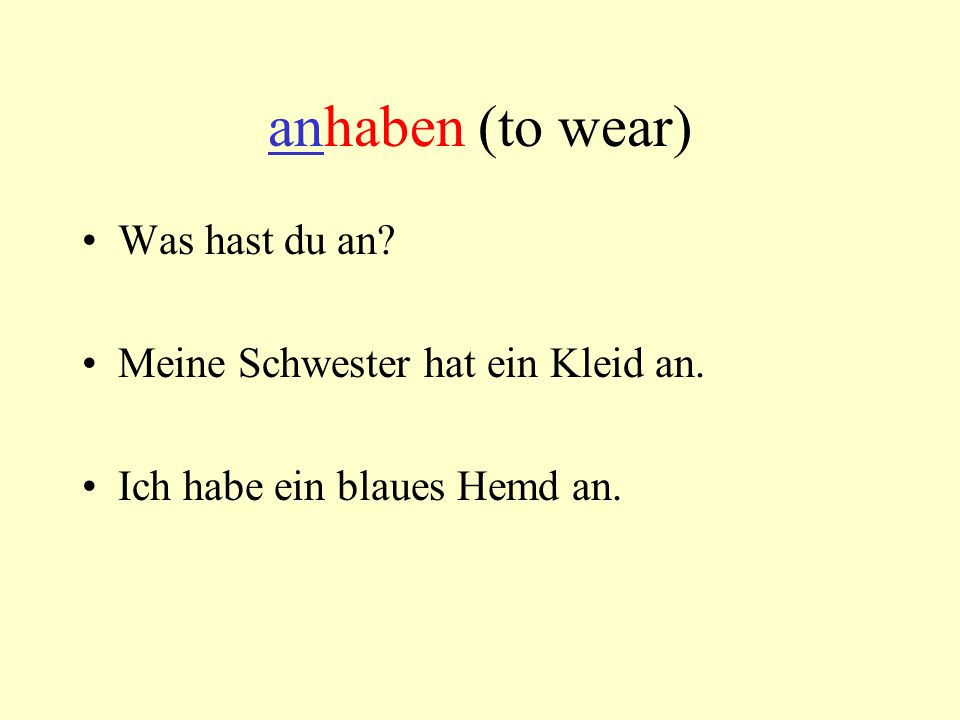 The prefix is always at the end of the sentence. anfangen (a<ä) Ich fange mein Projekt an.