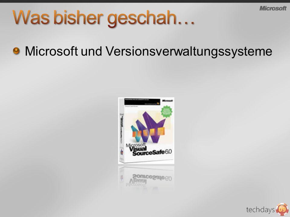 Microsoft und Versionsverwaltungssysteme