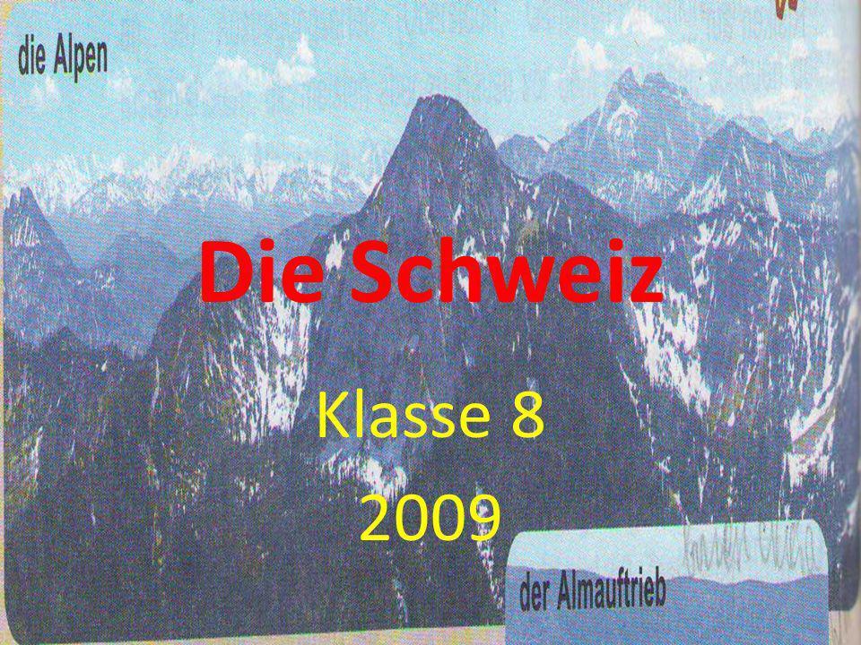 Die Schweiz Klasse 8 2009