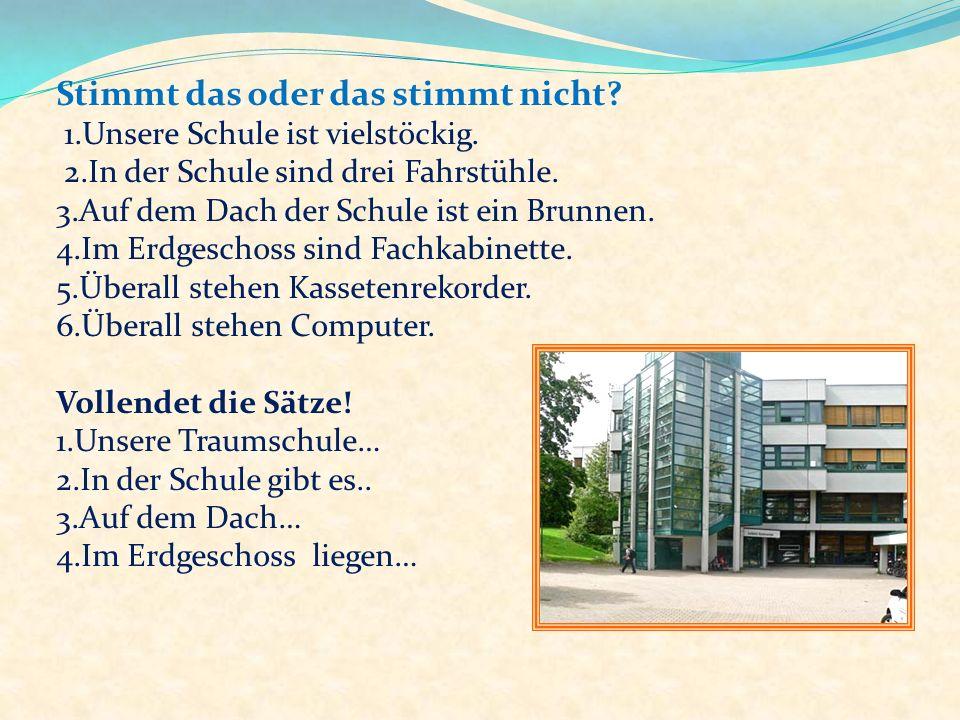 Berlin, den 27.12.2011 Liebe Freunde! Wir möchten euch über unsere Traumschule erzählen. Unsere Traumschule ist gross, hell, modern. Sie ist vielstöck
