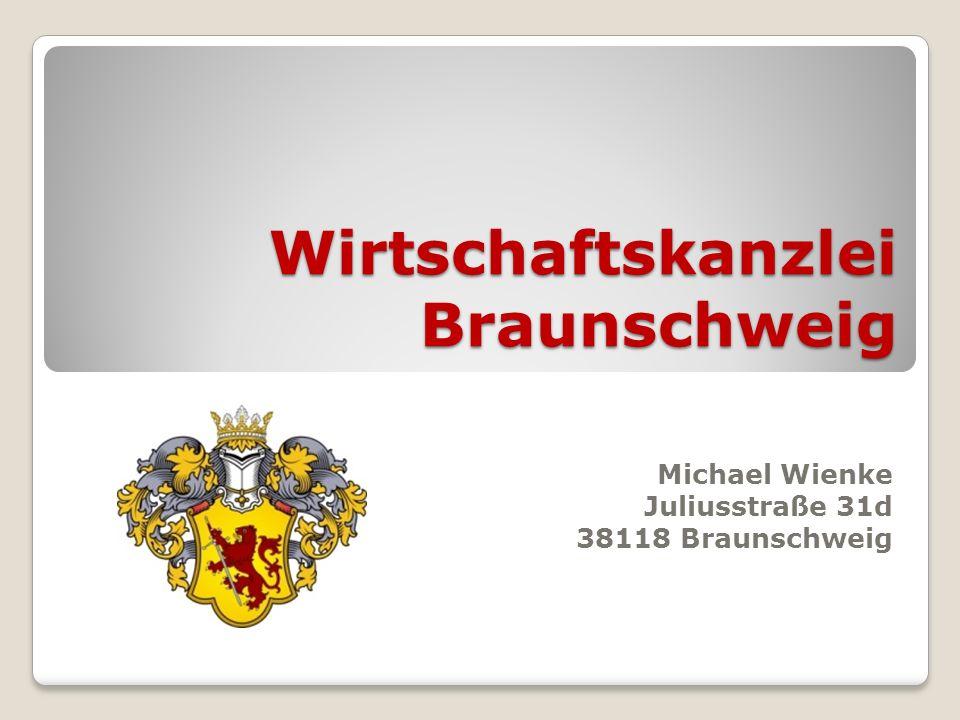 Wirtschaftskanzlei Braunschweig Michael Wienke Juliusstraße 31d 38118 Braunschweig