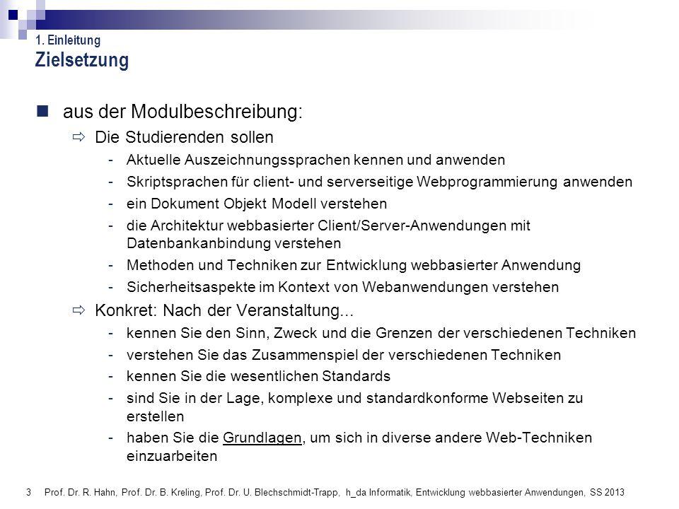 394 Hochschule Darmstadt Fachbereich Informatik 4.