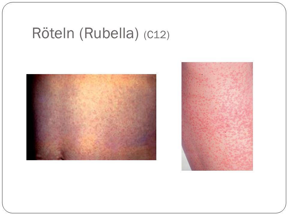 Röteln (Rubella) (C12)