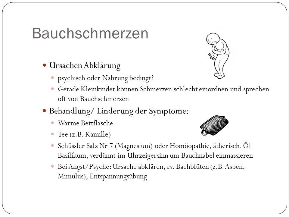 Bauchschmerzen Ursachen Abklärung psychisch oder Nahrung bedingt.
