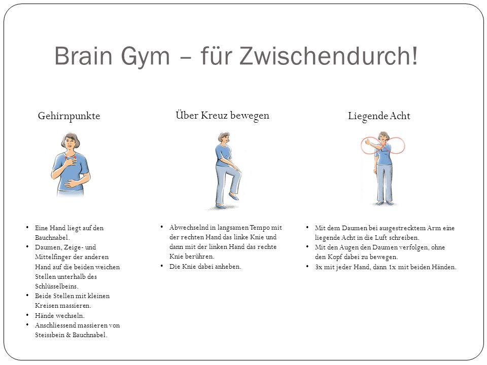 Brain Gym – für Zwischendurch.