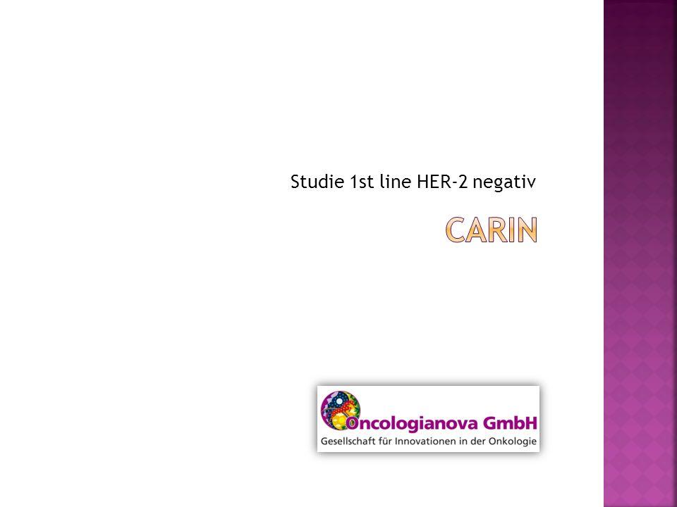 Studie 1st line HER-2 negativ