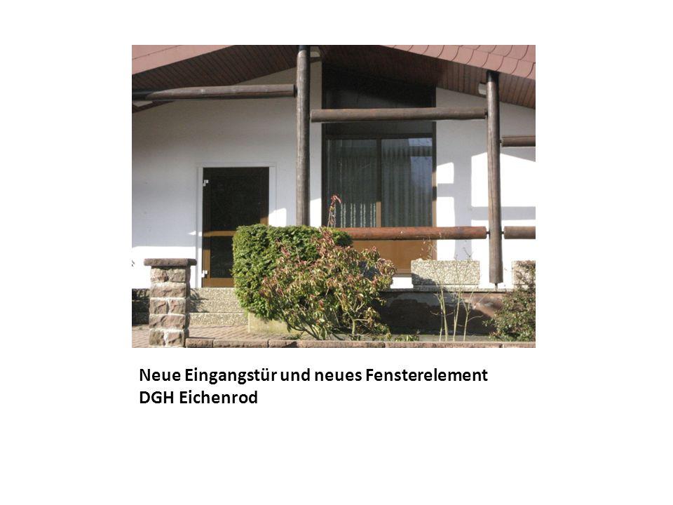 Neue Fenster DGH Eichelhain