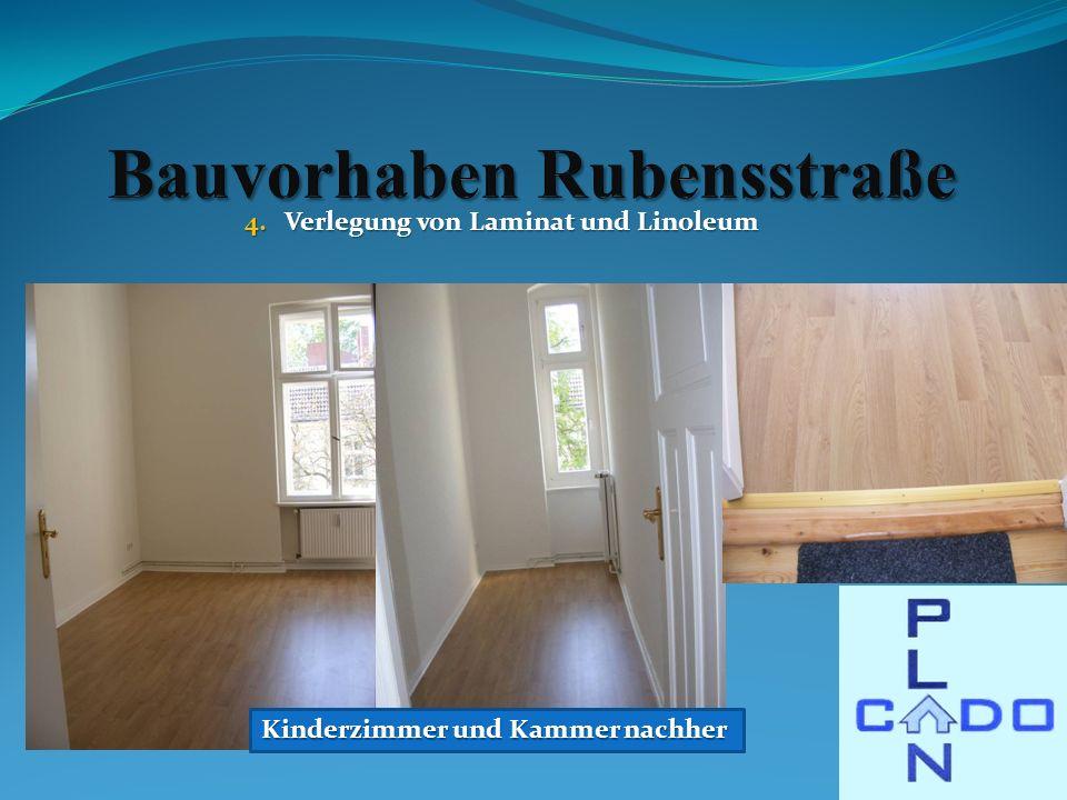 Kinderzimmer und Kammer nachher