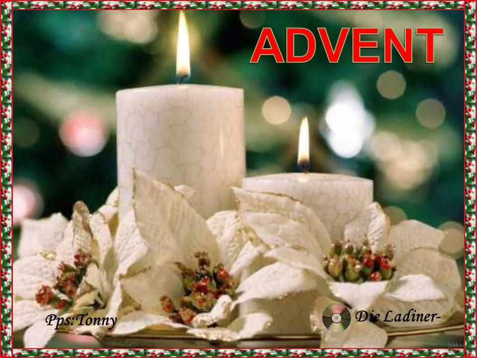 Da zünden wir kleine Feuer an, das Licht der Kerzen, wärmt unsere Herzen Dan branden we kleine kaarsjes En het licht van die kaarsjes, verwarmt onze harten