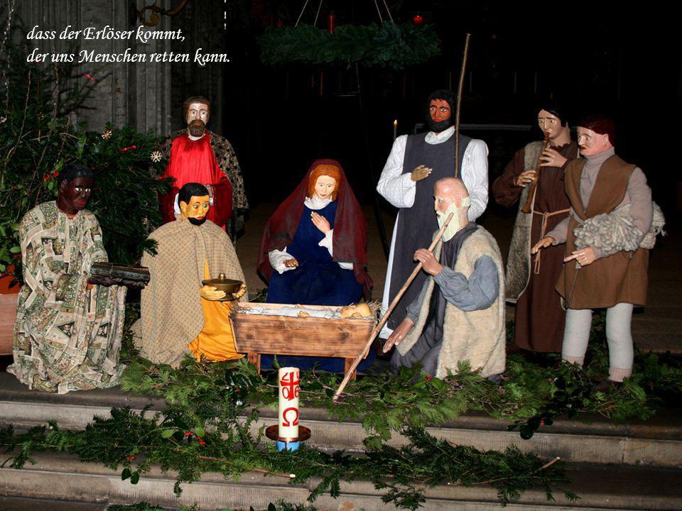Advent, es ist Advent, und Hirten künden an,