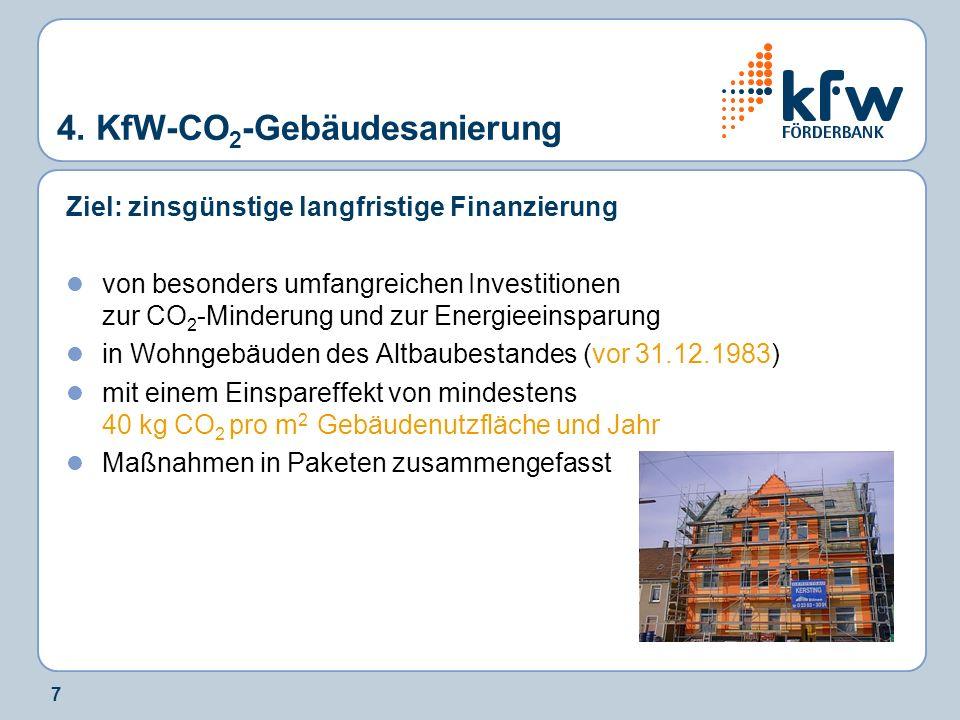 18 5.Wohnraum Modernisieren ÖKO – PLUS - Maßnahmen im Programm 143 1.