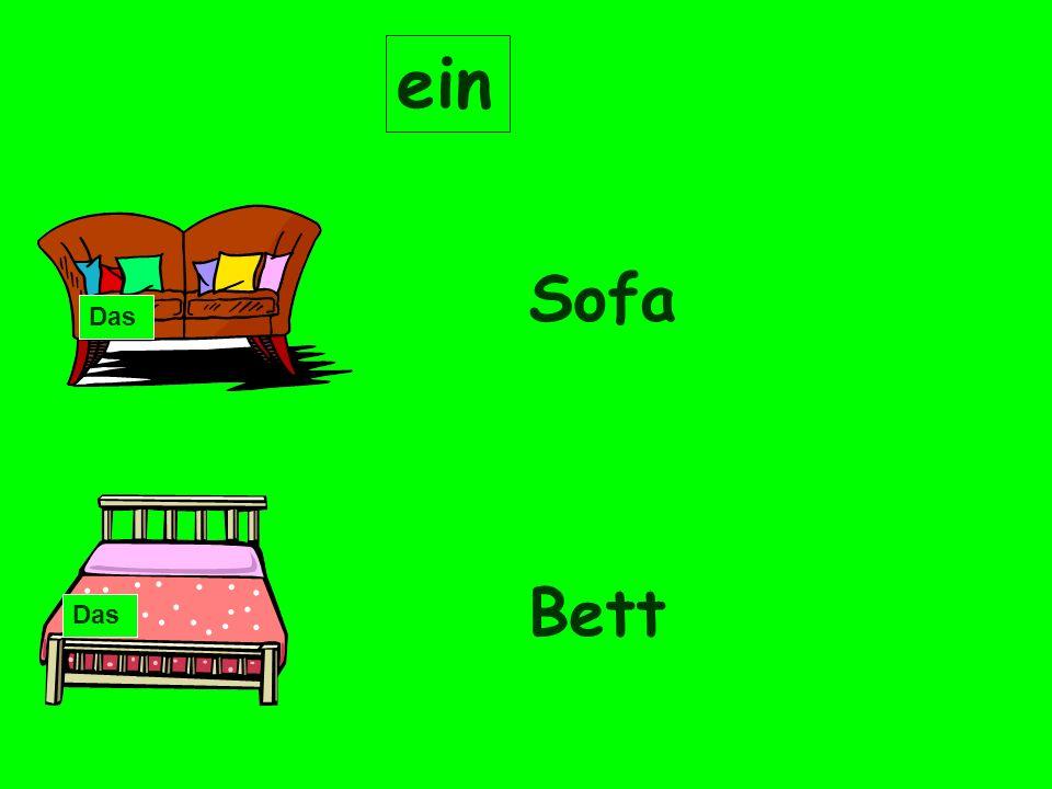 ein Sofa Bett Das