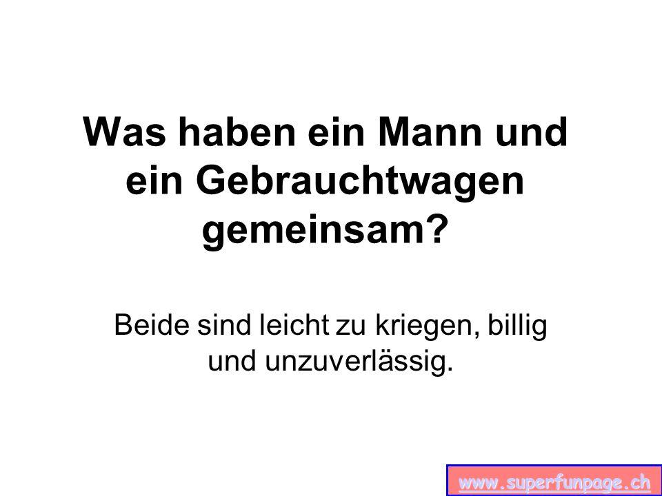 www.superfunpage.ch Warum arbeiten Männer auch am Wochenende.