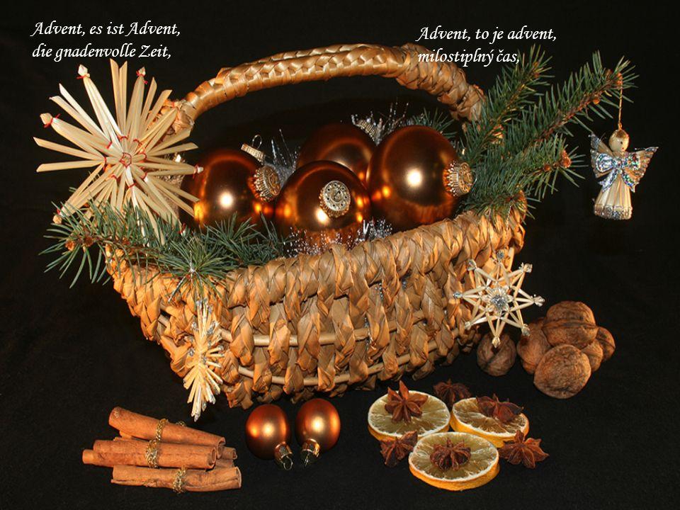 und Nächte rau und lang, stimmen uns auf Weihnacht ein.