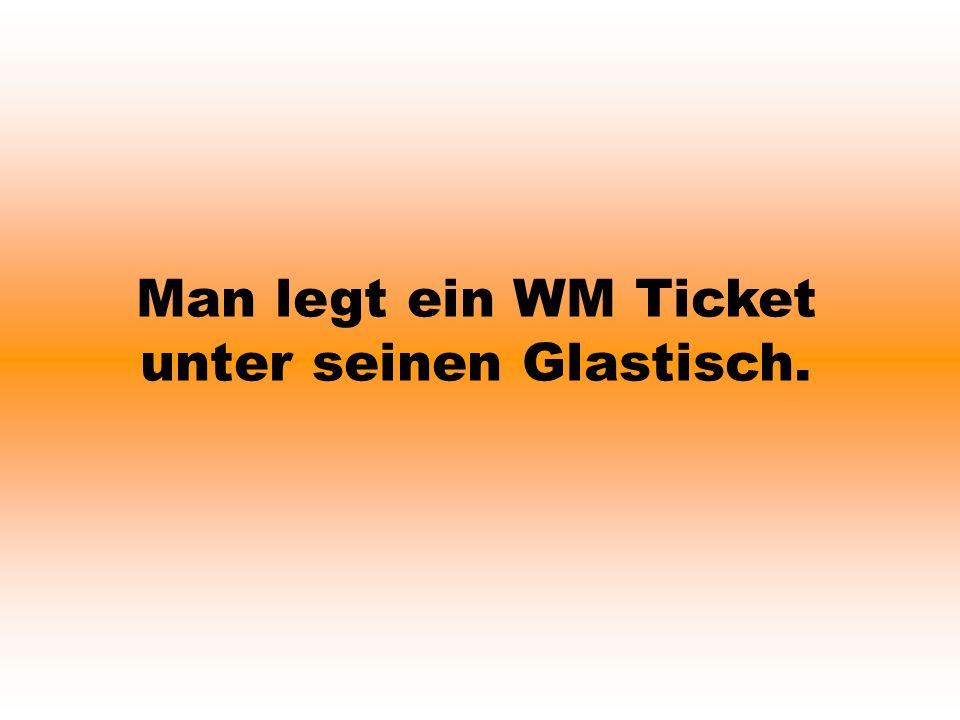 Ein Deutscher Fan sagt zu seinem holländischen Freund: Weist du noch als wir einmal mit dem Zug fuhren und im Münchner Bahnhof standen.