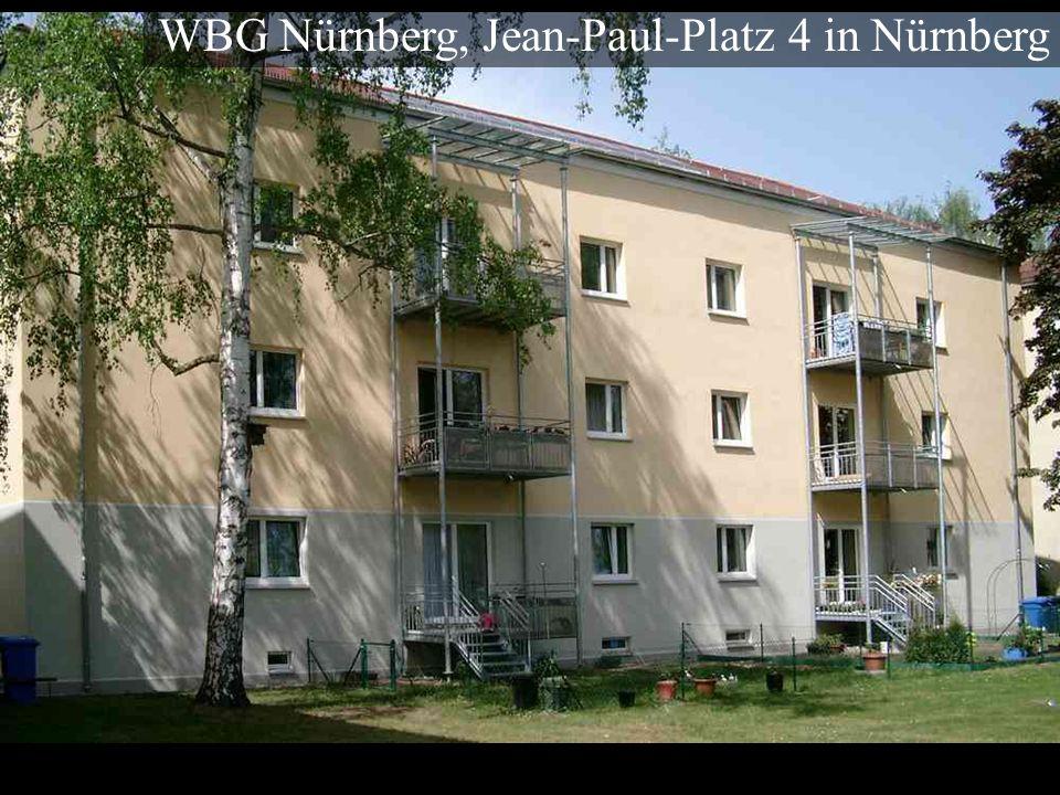 WBG Nürnberg, Jean-Paul-Platz 4 in Nürnberg