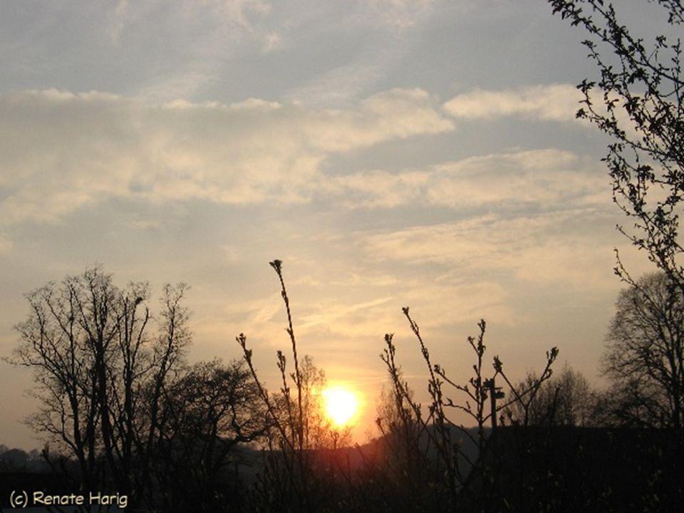 Morgen wird es einen neuen Tag geben, und wir wissen heute noch nicht, was er uns bringen wird.