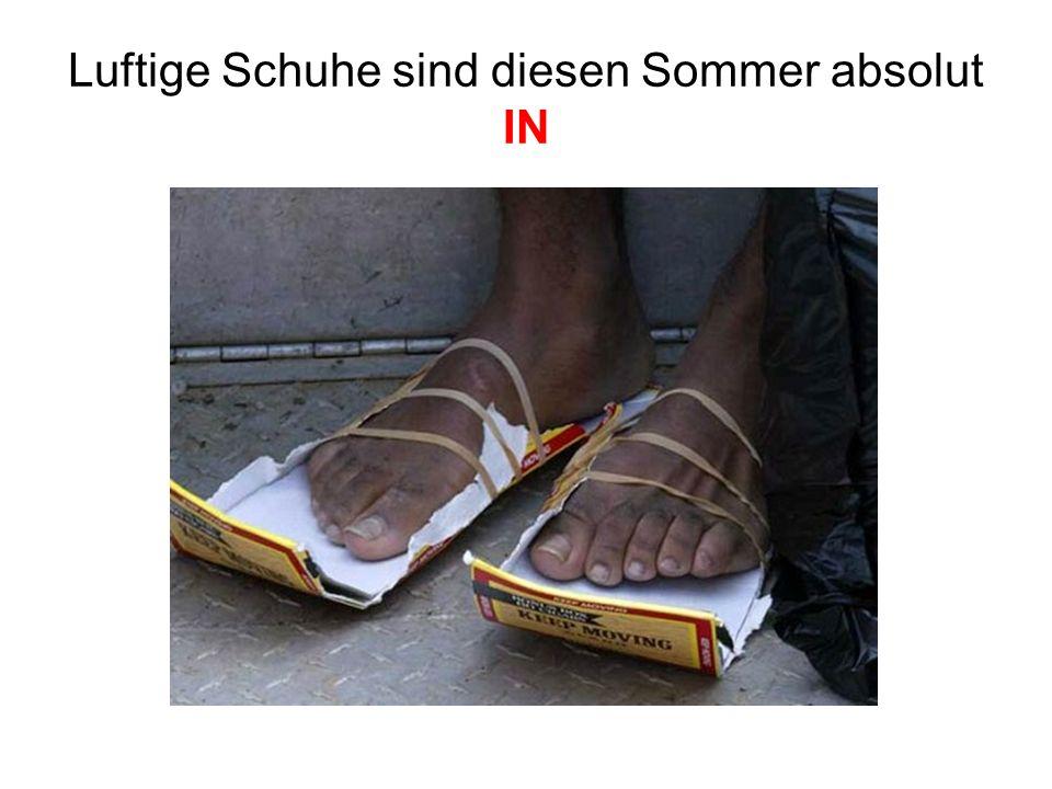 Hast Du die richtigen Schuhe für den Urlaub dabei