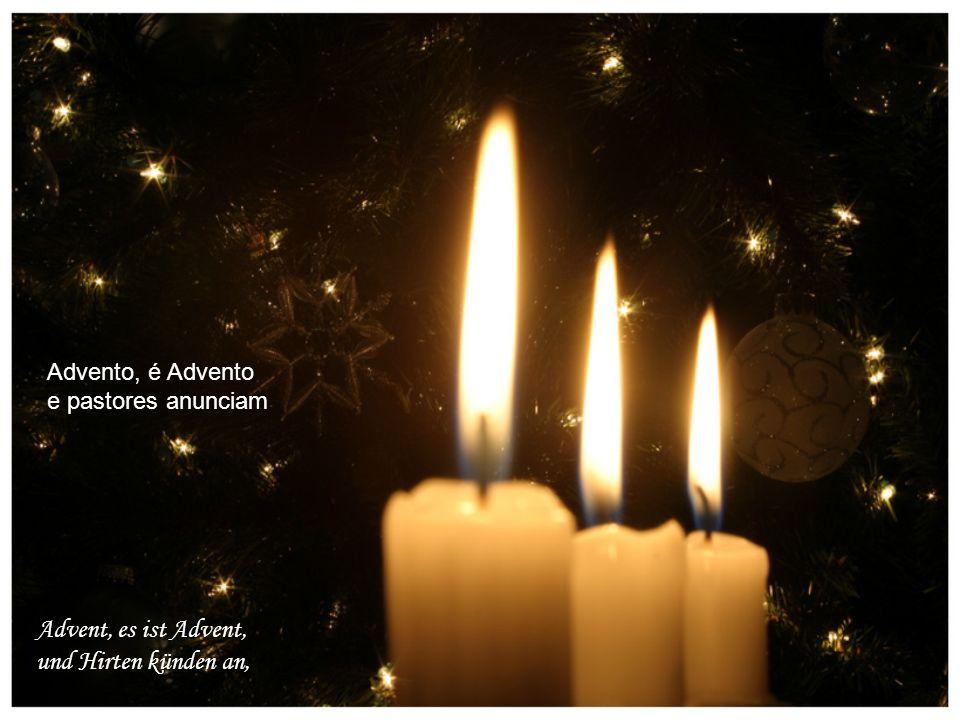 Advent, es ist Advent, und Hirten künden an, Advento, é Advento e pastores anunciam