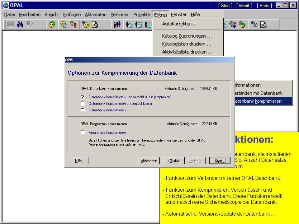 Adressen-Import: - Der Assistent zum Importieren von Personen, Adressen und Nummern ermöglicht bestehende Daten von beliebigen anderen Datenbanken ode