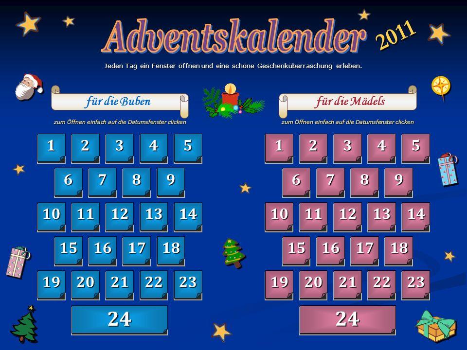 zurück zum Kalender 1 1 Dezember
