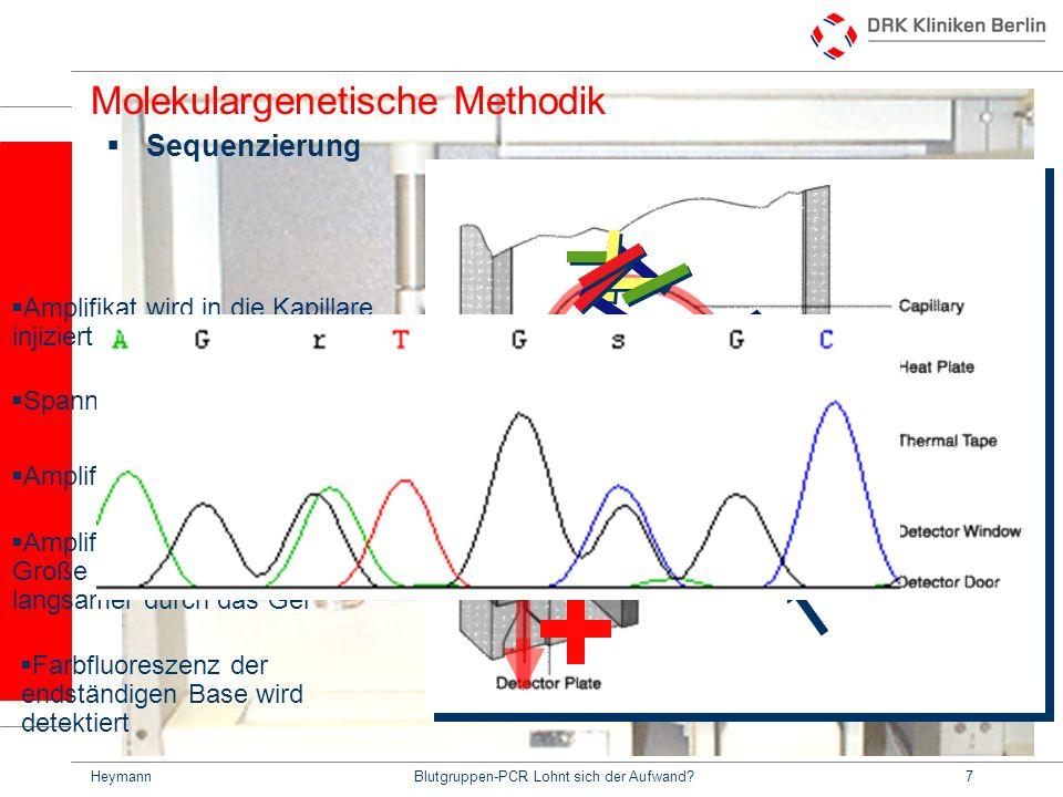 HeymannBlutgruppen-PCR Lohnt sich der Aufwand?18 Beispiele: Rhesus