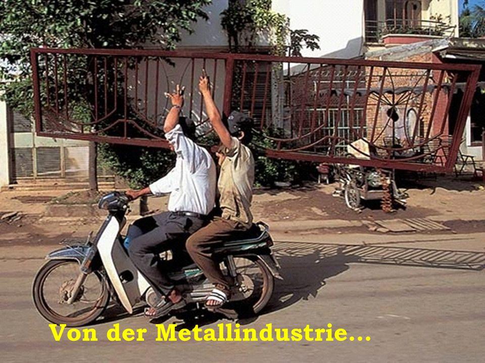 Von der Metallindustrie…