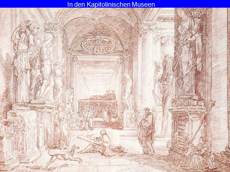 In den Kapitolinischen Museen