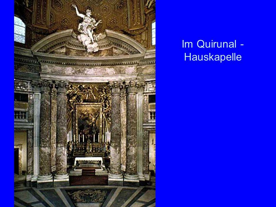Im Quirunal - Hauskapelle
