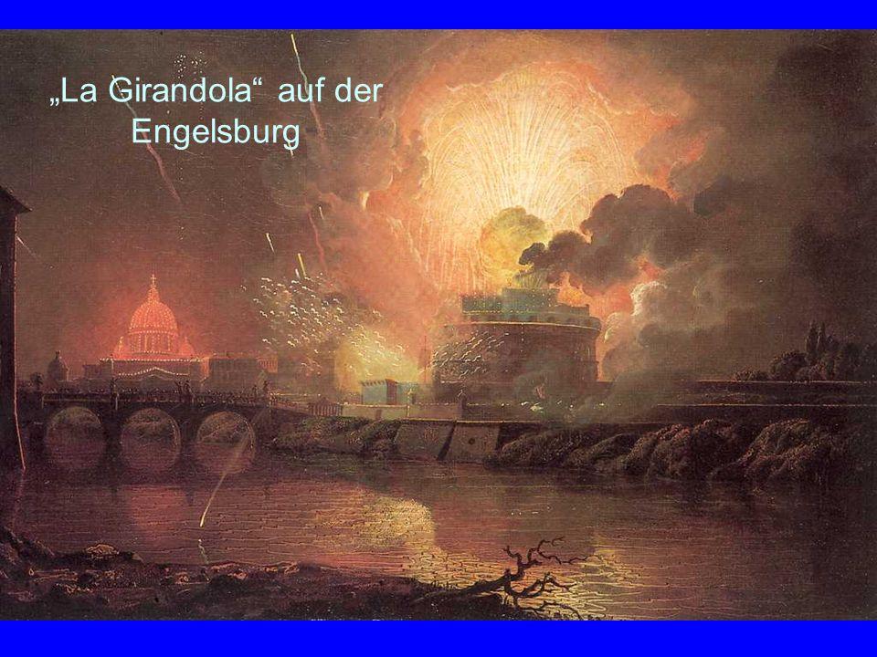 La Girandola auf der Engelsburg