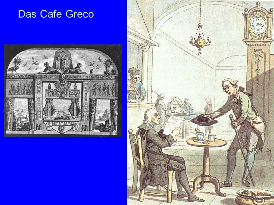 Das Cafe Greco