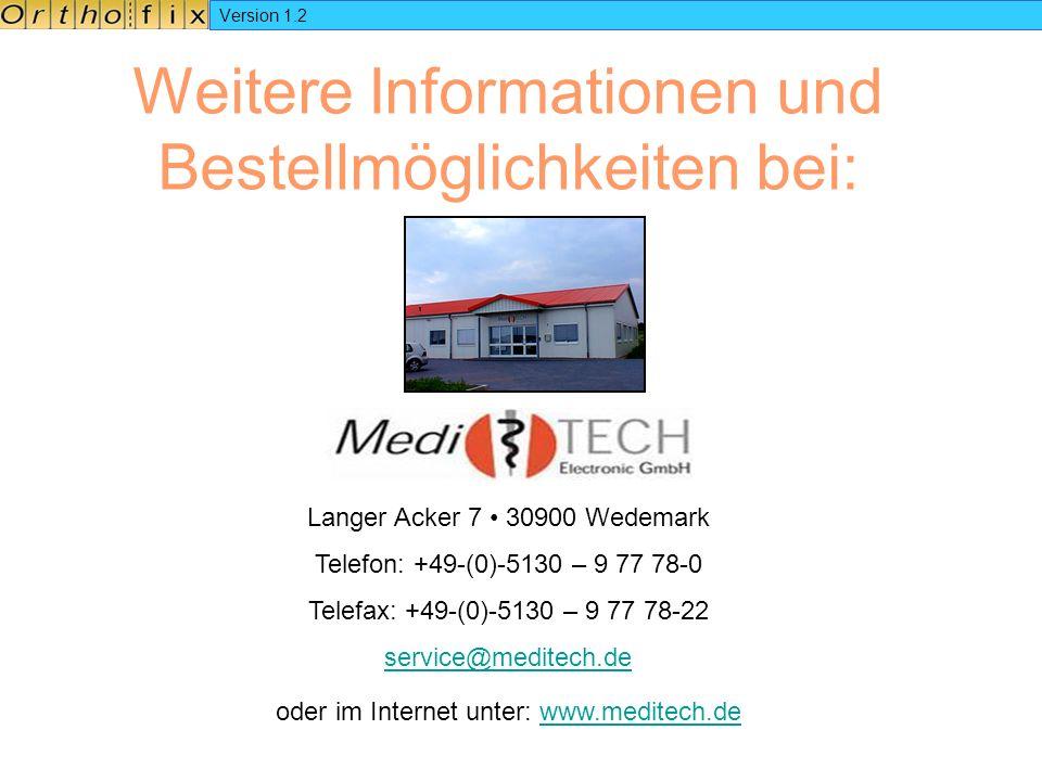 Version 1.2 Weitere Informationen und Bestellmöglichkeiten bei: Langer Acker 7 30900 Wedemark Telefon: +49-(0)-5130 – 9 77 78-0 Telefax: +49-(0)-5130