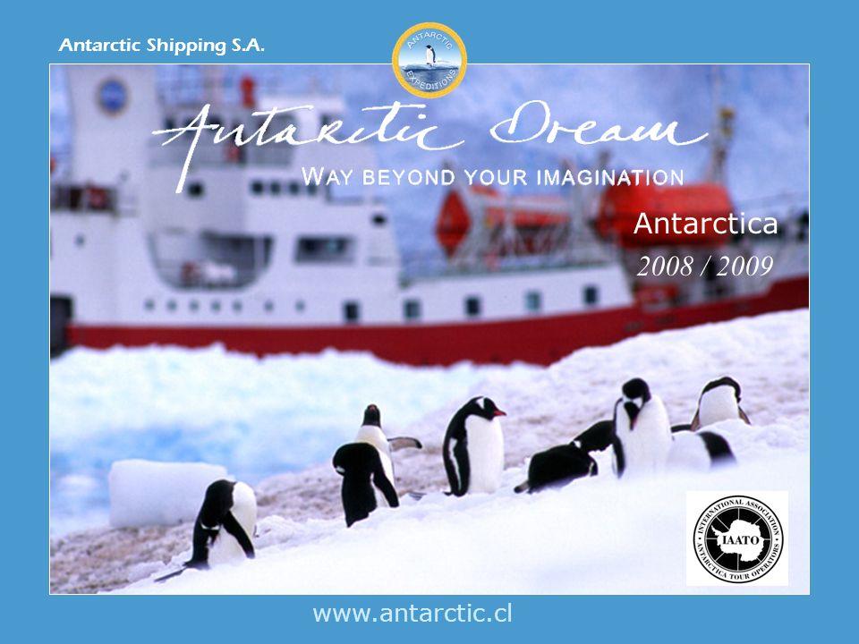 www.antarctic.cl Antarctic Shipping S.A. Antarctica 2008 / 2009
