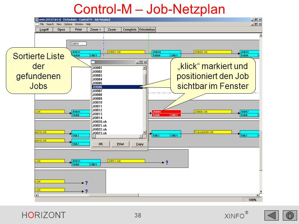 HORIZONT 39 XINFO ® XINFO – Netzpläne drucken XINFO druckt Netzpläne auf allen Geräten (Drucker, Plotter usw.) XINFO Druckvorschau