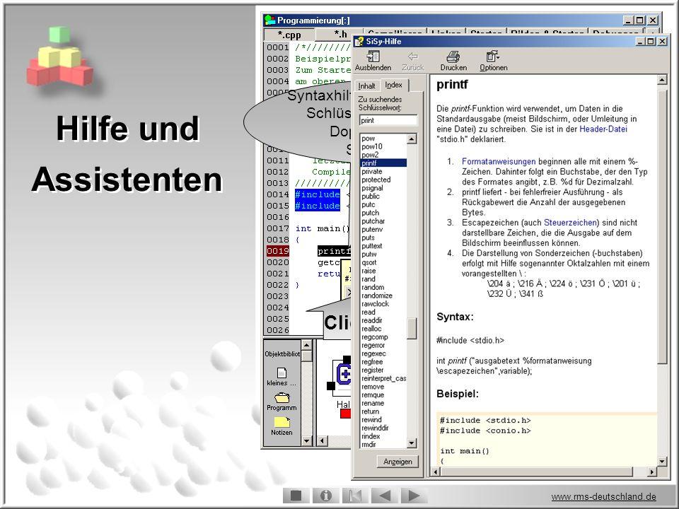 www.rms-deutschland.de Click.