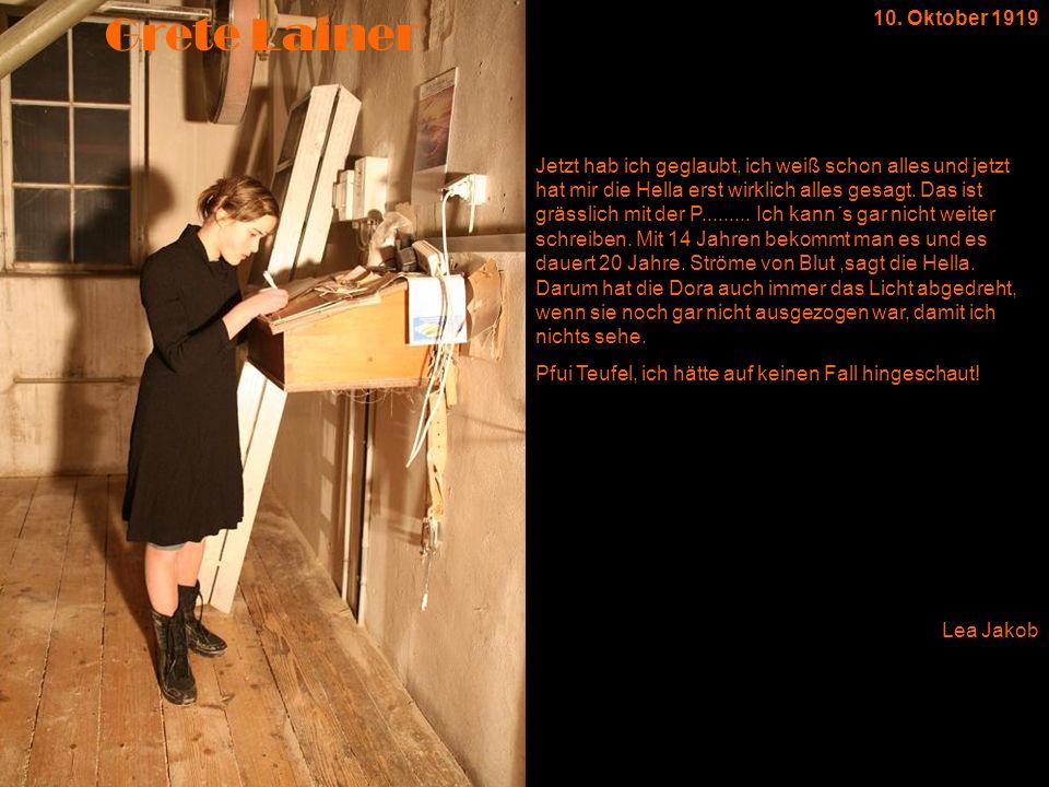19.01.2006 Gestern sah ich im Fernsehen eine nicht zu dicke Frau, die mit Tränen in den Augen sagte, sie wünsche sich so sehr, in den Spiegel zu schauen und sagen zu können: das bin ich.