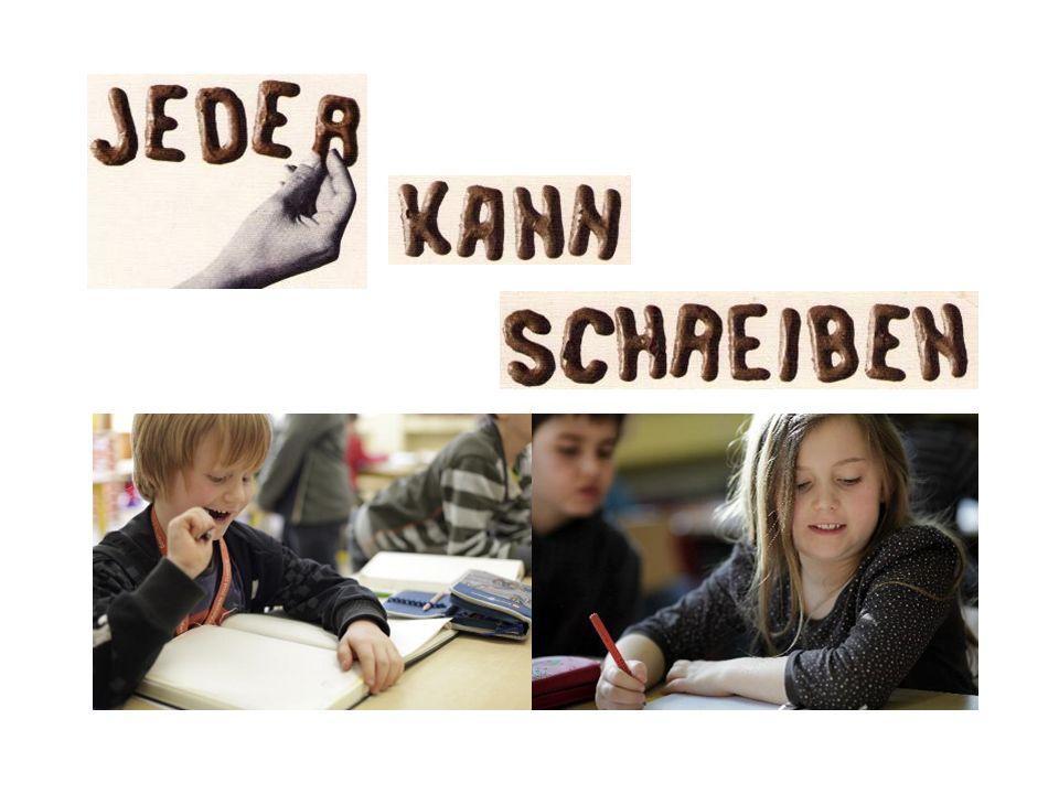 Schreibgespräche und Veröffentlichungen Das Verfassen von Texten wird in gemeinsamen Schreibgesprächen gefördert, in denen Textentwürfe gewürdigt, besprochen und danach ggf.